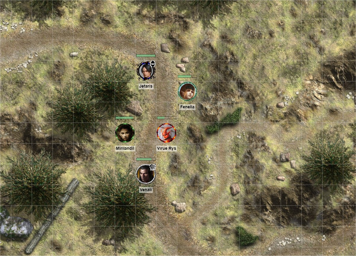 Roll20 Battle Map Example